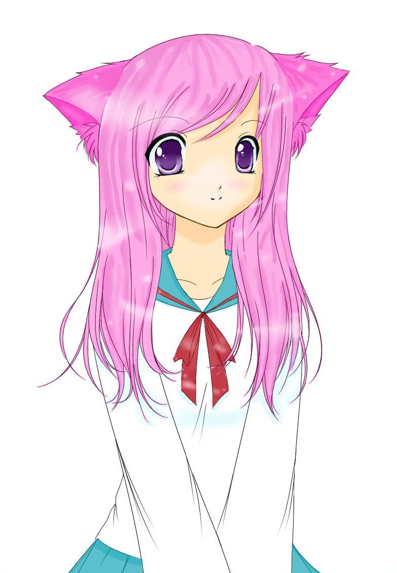 784x1131 Cat anime Anime Cat Girl By Littlemzrainbowz Manga Anime Digital