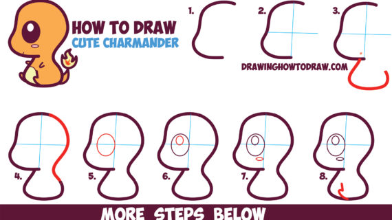 570x320 Chibi Drawing For Beginners How To Draw Chibi Manga, Step By Step