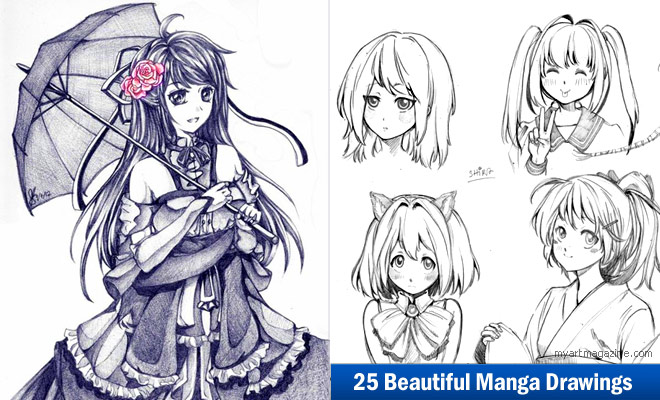 660x400 25 Beautiful Manga Drawings For Your Inspiration