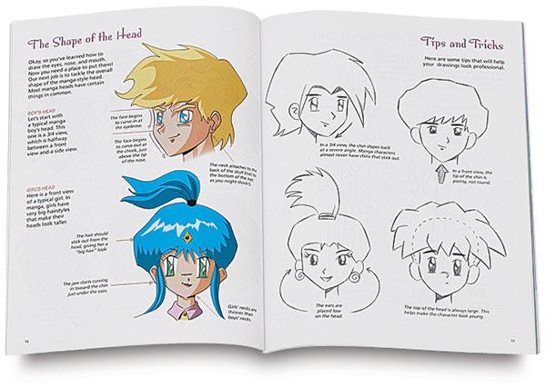 600x427 Kids Draw Manga Series