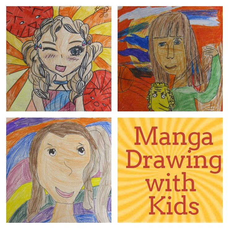 740x740 Manga Drawing With Kids Art Is Basic An Elementary Art Blog