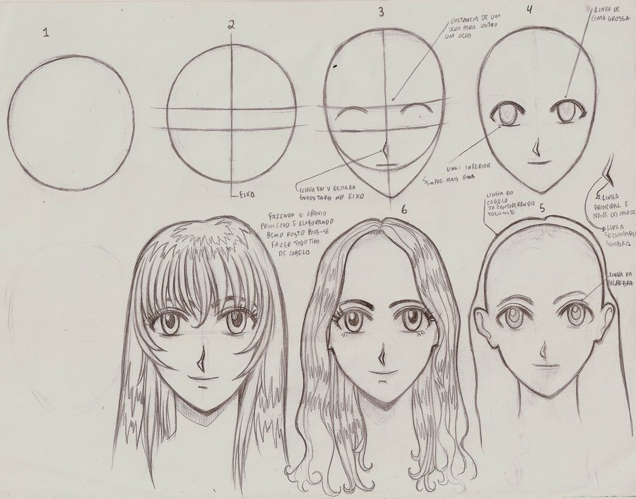 900x706 Tutorial Drawing Manga Style H By Ultraseven81