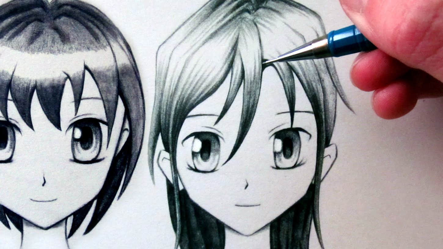 1450x816 How To Draw A Manga Face
