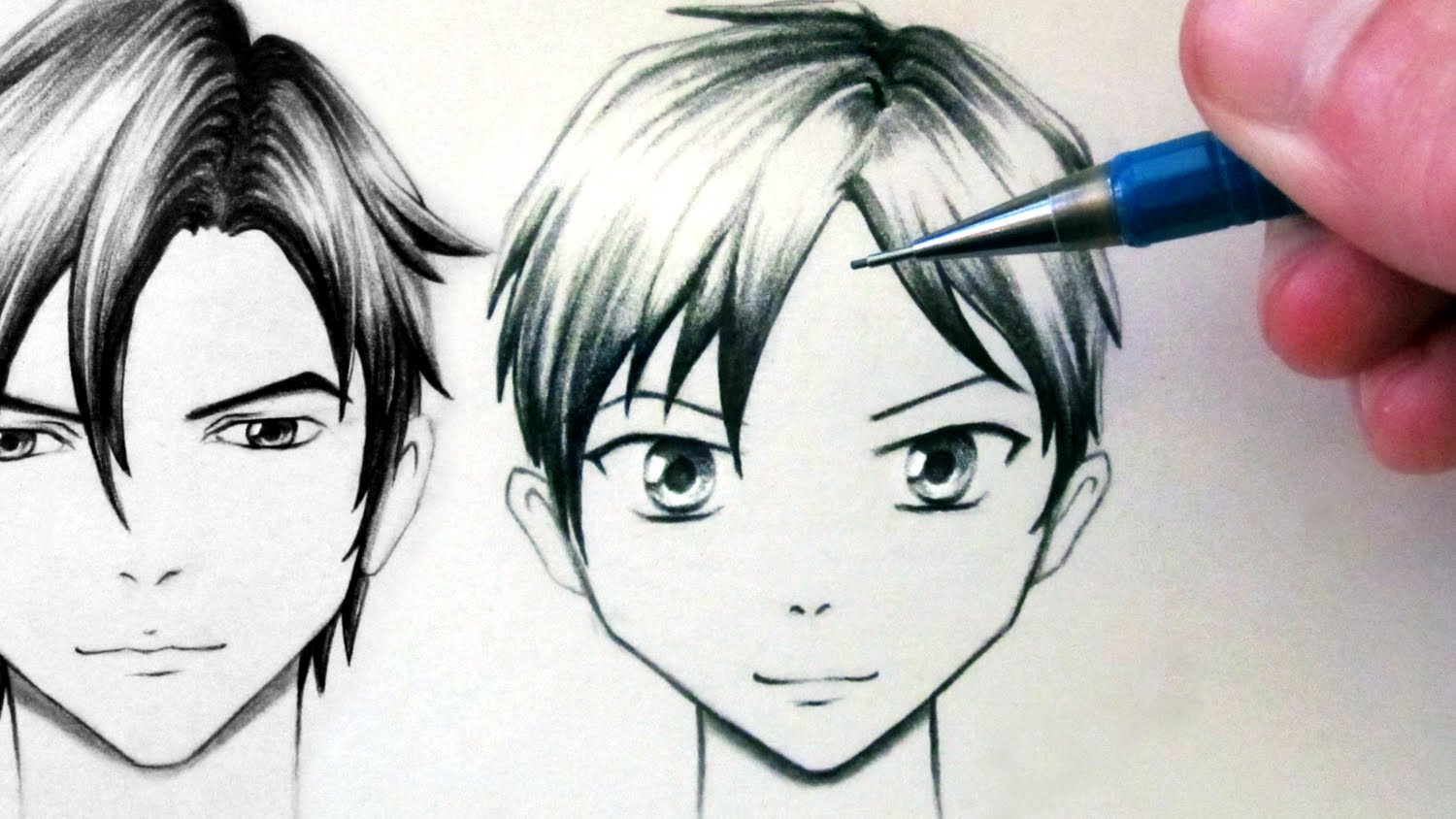 1500x844 How To Draw A Manga Face