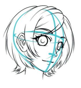 281x304 Manga Basics Drawing Faces