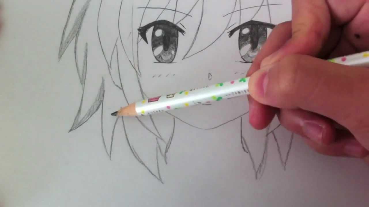 1280x720 Drawing A Basic Manga Girl