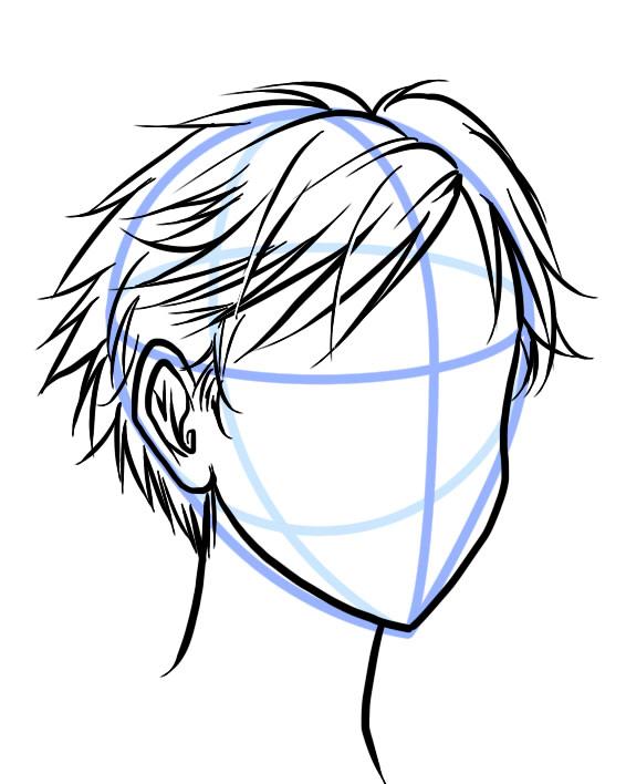 566x708 Short Hair In Manga Http