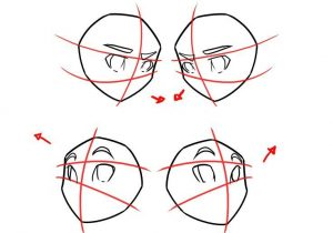 300x210 Drawing Anime Steps Drawing Anime Stepstep How To Draw Anime Hands