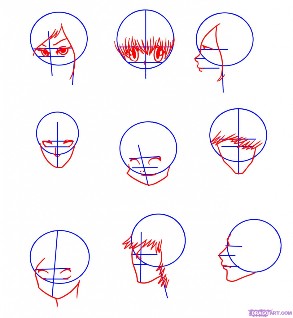 946x1024 Drawing Anime Faces Step By Step How To Draw Manga Faces Step Step
