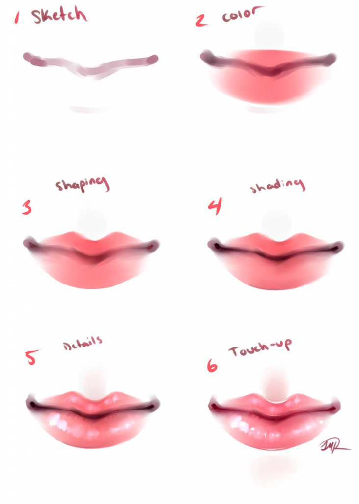 731x1024 Draw Anime Lips How To Draw Noses And Mouths Manga University