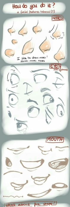 236x700 Expression Face Tips Drawing (Official Board
