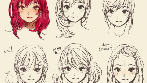 570x320 Anime Drawing Style Differnt Drawing Styles Manga Drawing Myself