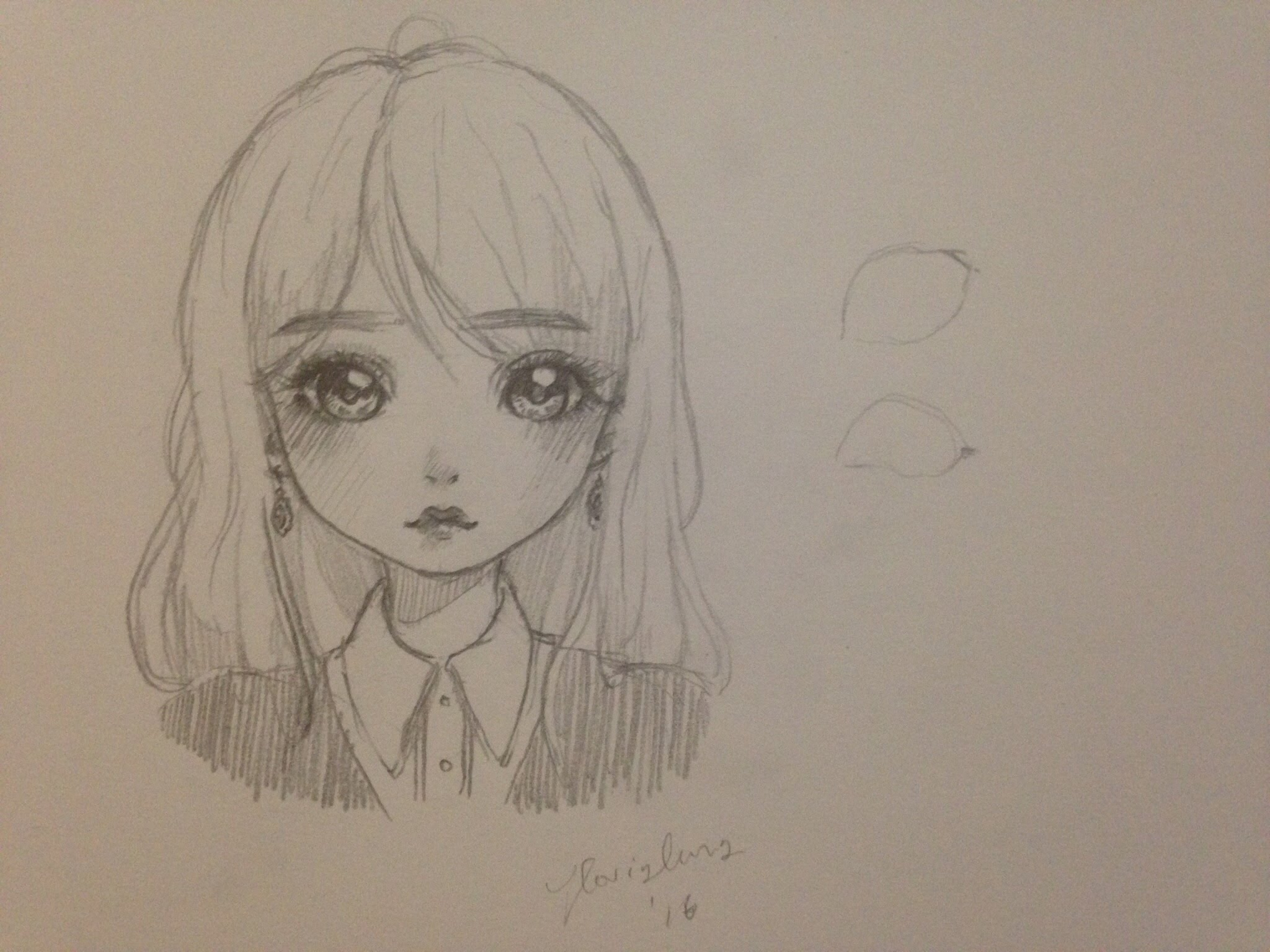 2048x1536 How To Draw A Girl (Mangadoll Style)