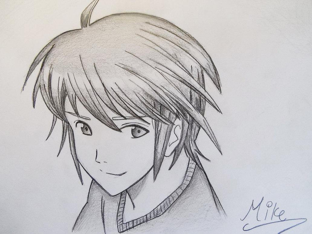 1032x774 Manga Style Boy! By Mcorderroure