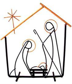 236x272 Black And White Manger Scene Nativity By Inspired Imaging