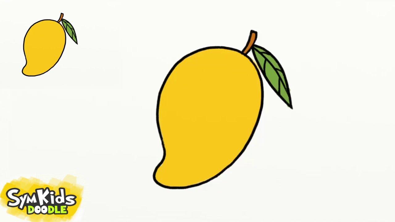 1280x720 How To Draw A Mango