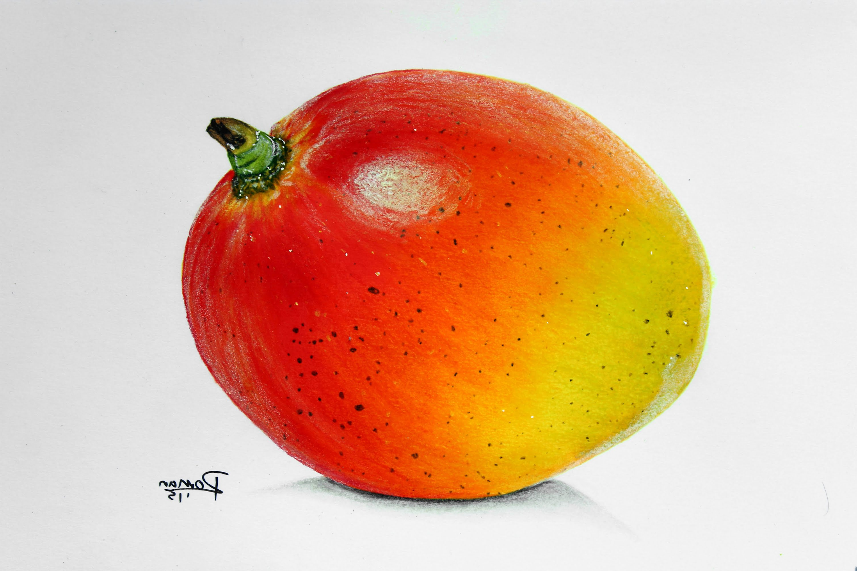 3000x2000 Draw With Colorful Fruits Images Speed Drawing Mango Fruit