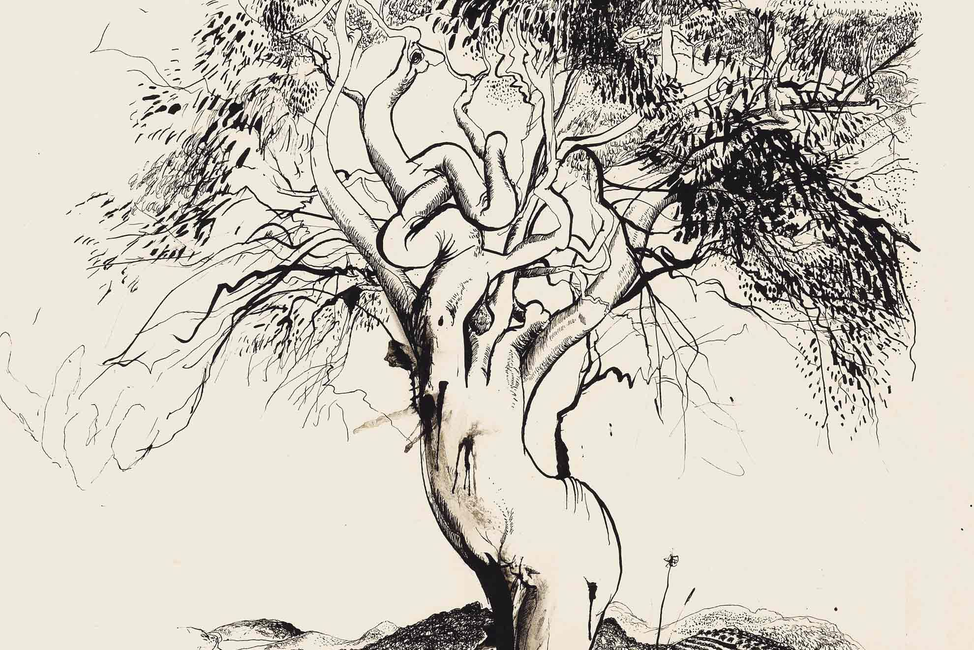 1980x1321 Brett Whiteley Tree, Tuscany
