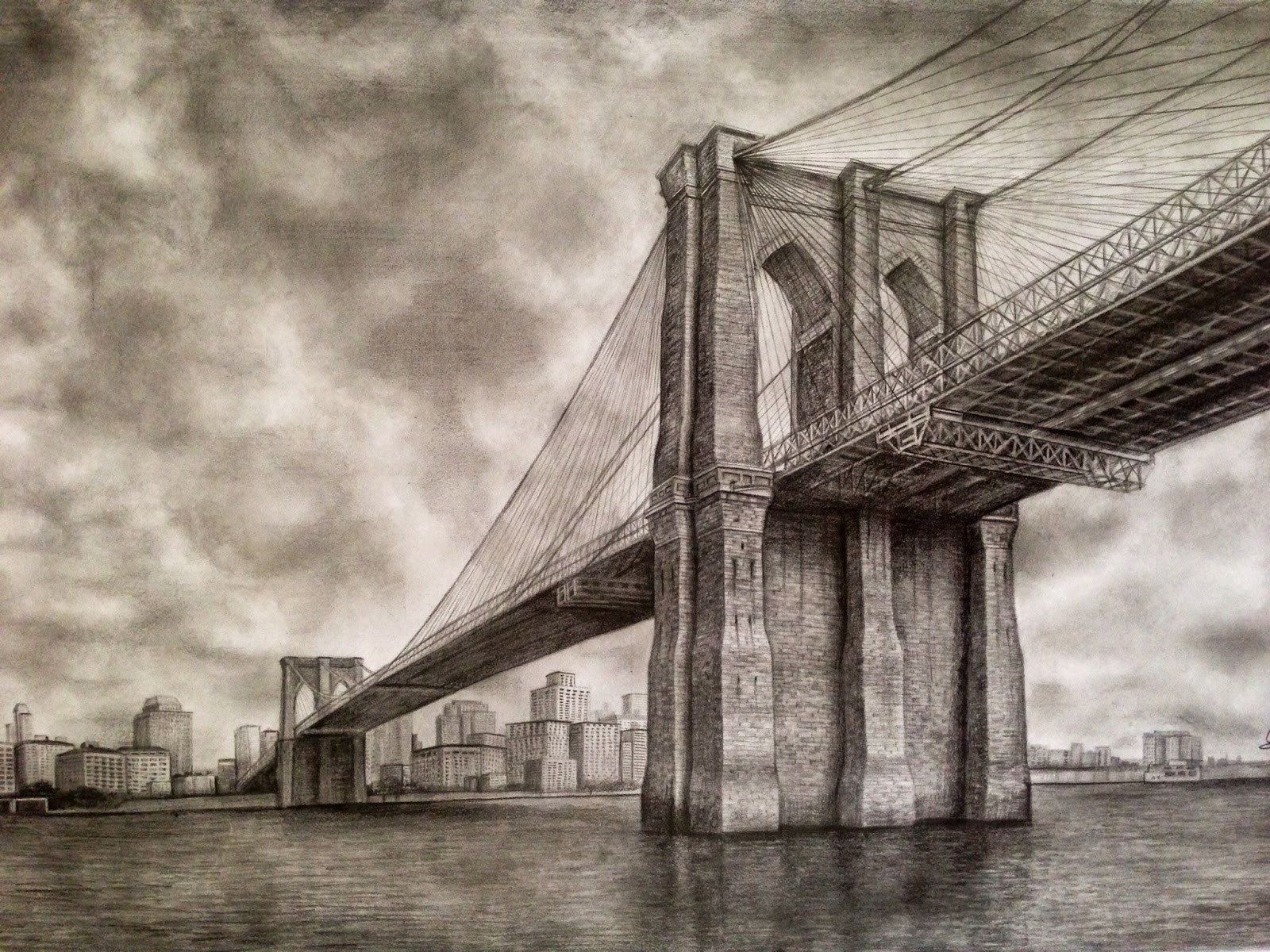 1600x1200 Brooklyn Bridge. This Piece Of Architecture Is Perfect For Black