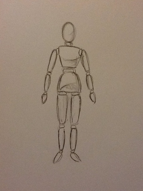478x640 How To Draw A Mannequin