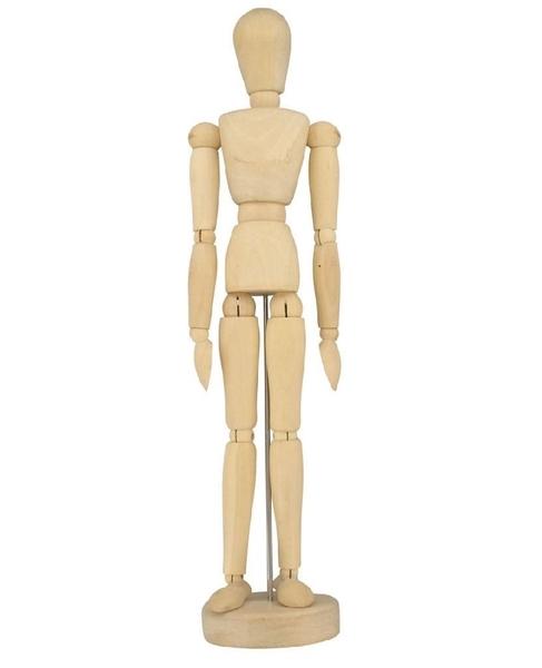 487x600 Human Artist Model