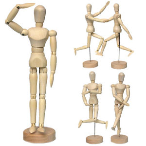 300x300 Wooden Manikin Human Figure Artist Draw Painting Model Mannequin