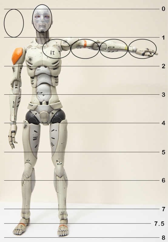 554x800 Betterrtists Mannequin 16 Synthetic Human Test Body
