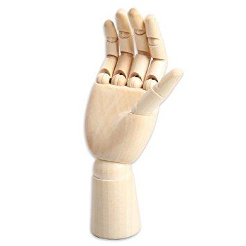 355x355 Art Mannequin, Yookat Wood Art Mannequin Hand Model