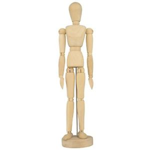 300x300 Artist's Wooden Manikin Mannequin Poseable Lay Figure Drawing