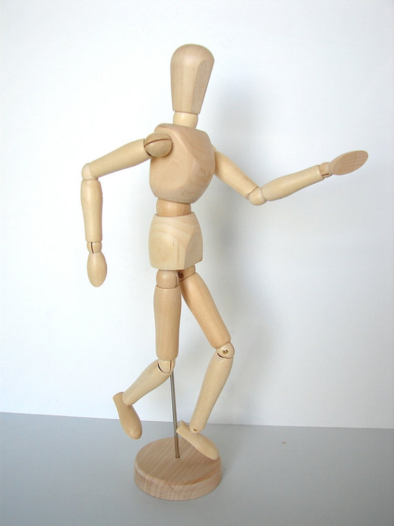 570x760 Drawing Mannequins Wood Manikin Mannequin 12 High Perfect