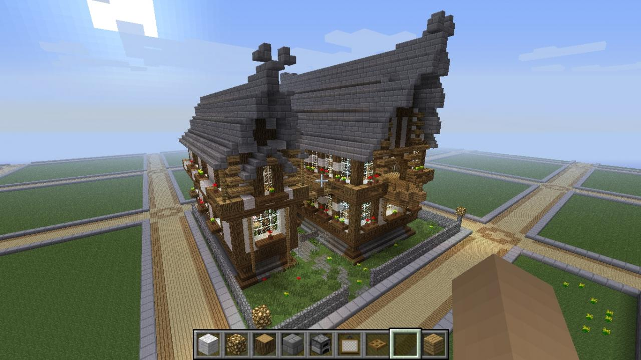1280x719 Medieval Manor (No Download) Minecraft Project
