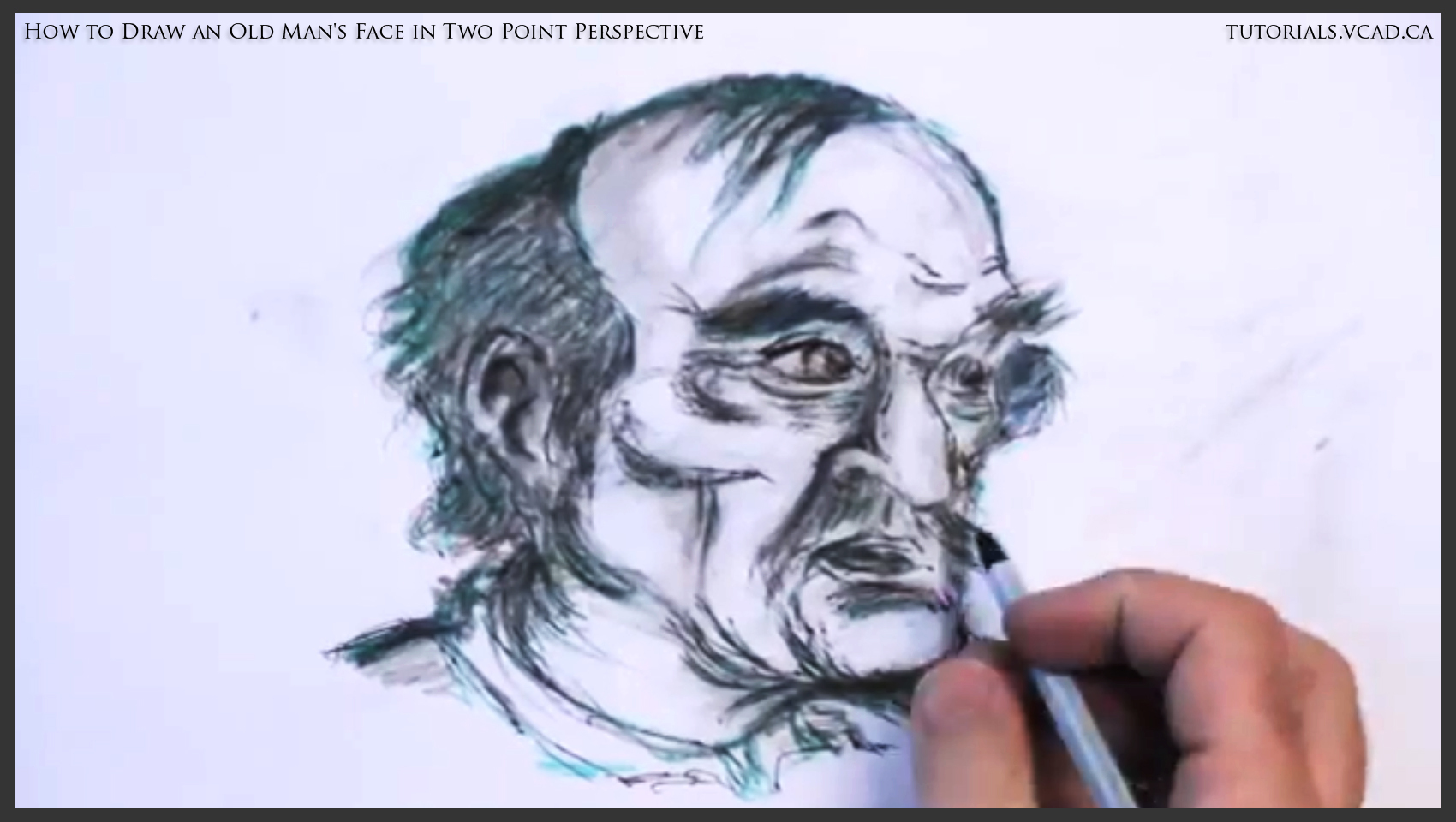 1700x960 How To Draw An Old Man's Face In Two Point Perspective