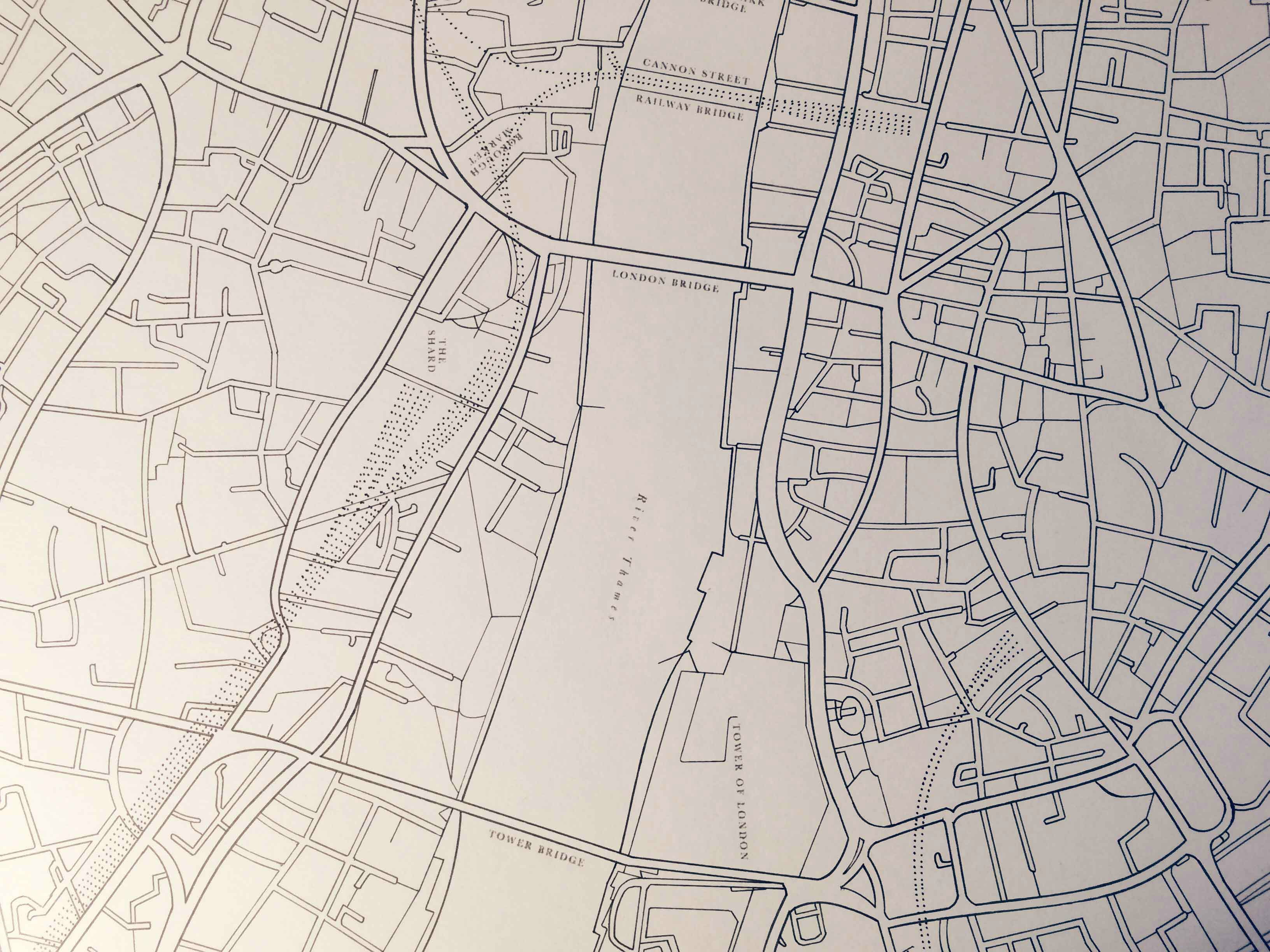 3264x2448 Minimalist Hand Drawn Maps Of London Amp Edinburgh Brilliant Maps