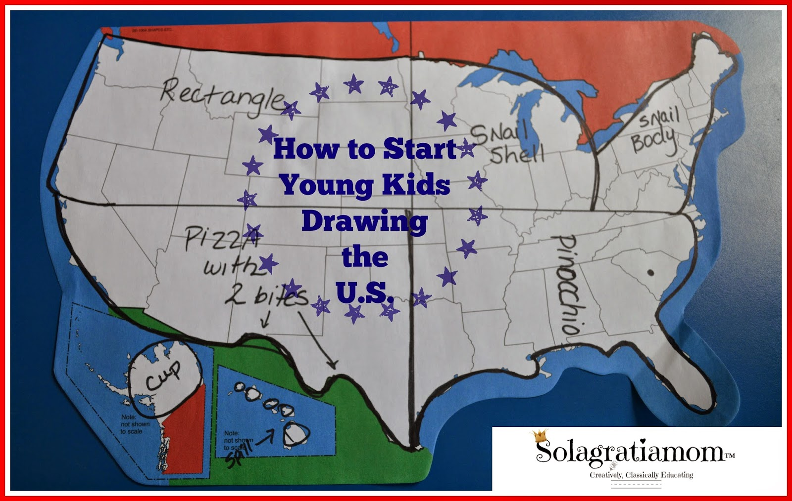 1600x1014 Solagratiamom How To Start Young Kids Drawing The U.s.