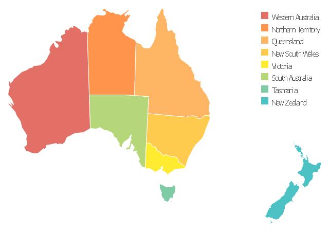 640x449 Australia Map