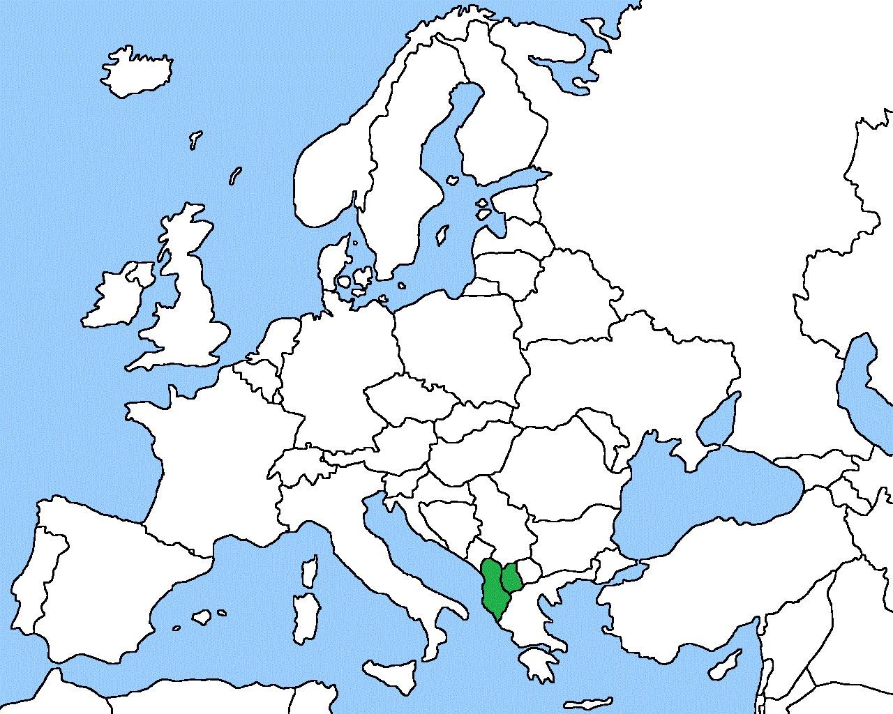 1280x1024 Europe Map 2016