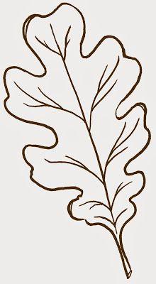 220x400 Mollie Makes, Felt Leaf Template