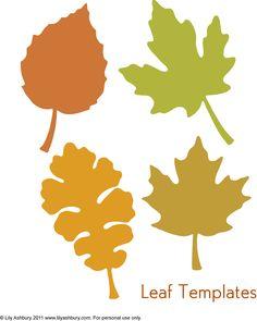 236x295 Printable Leaf Stencils Topic Thanksgiving Leaf Garland