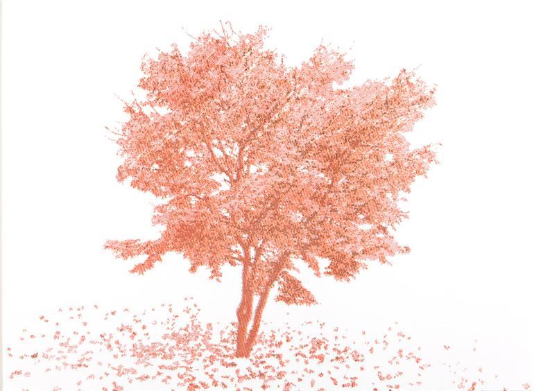 770x564 Saatchi Art Maple Tree Drawing By Damien Borowik
