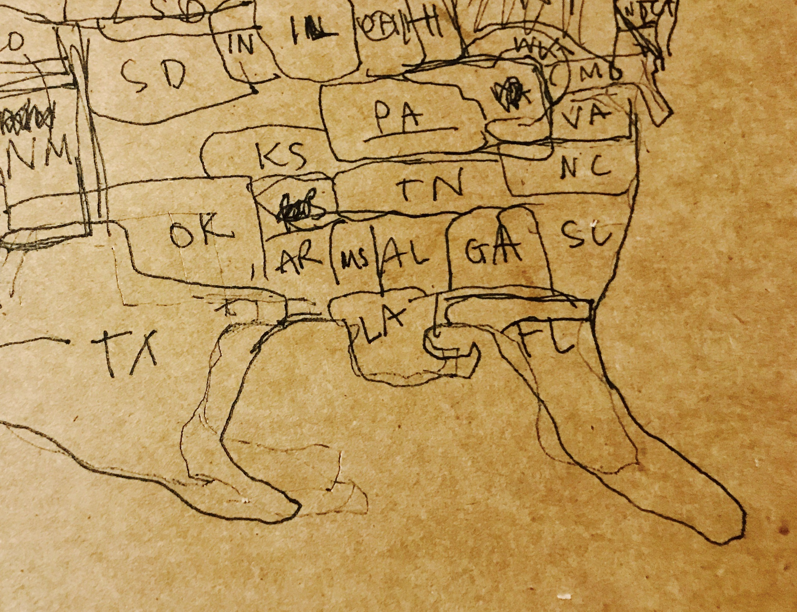 2549x1957 Drawing Maps With Sandra Cisneros Aster(Ix) Journal
