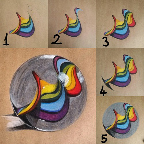500x500 How To Draw Marble Discovered By Aslanaslihanart