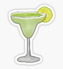 210x230 Margarita Drawing Stickers Redbubble