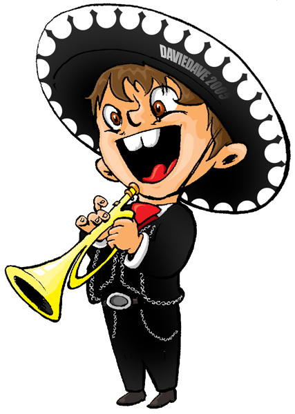 427x600 Kid Mariachi By Daviedave