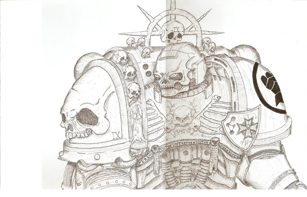 1024x659 Space Marine Chaplain Sighart By Verpester