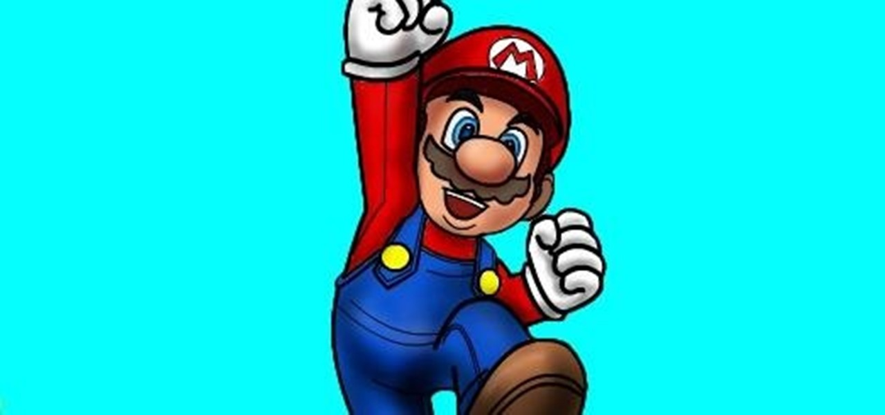 1280x600 How To Draw Mario Of Mario Bros. Drawing Amp Illustration