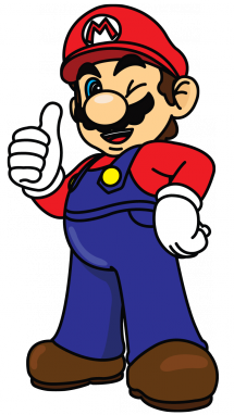 215x382 How To Draw Super Mario From Nintendo, Video Games,, Easy Step By