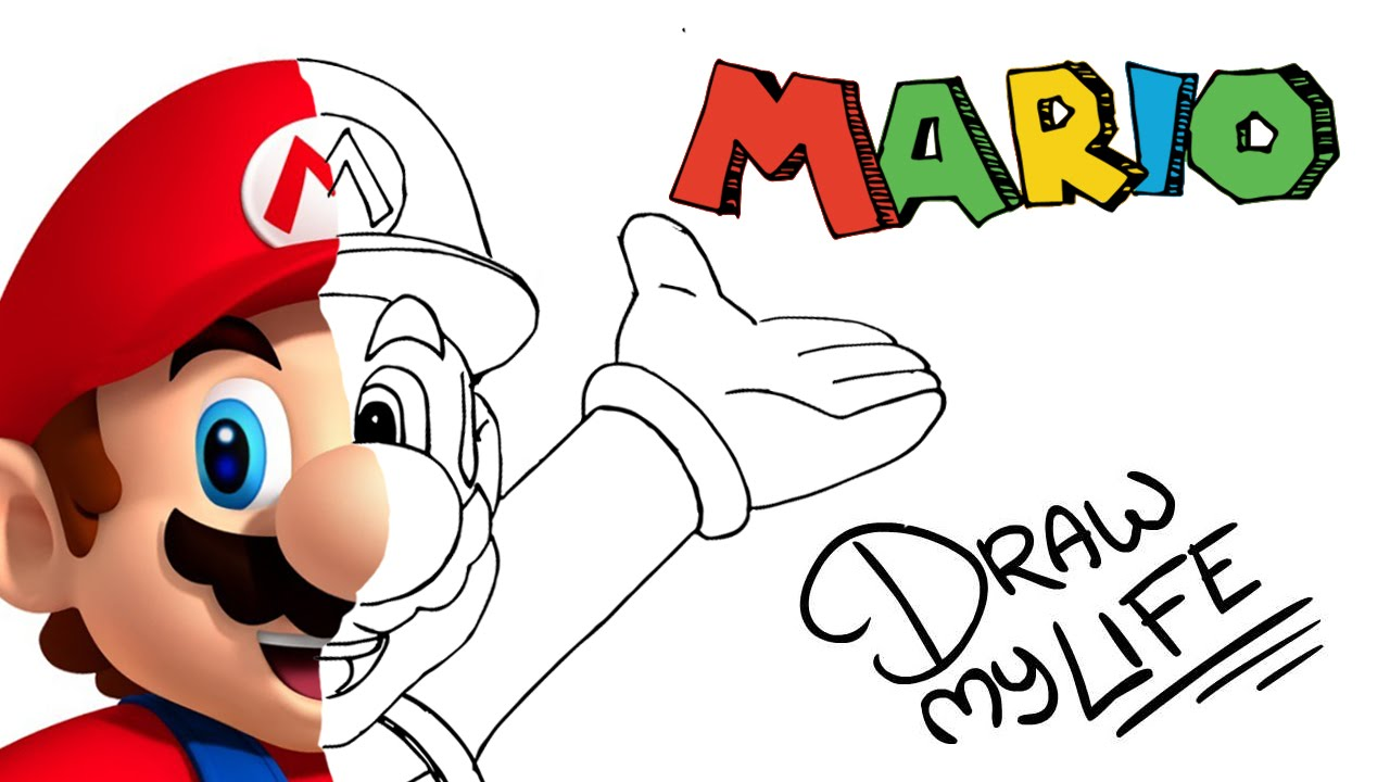 1280x720 Mario Bros Draw My Life