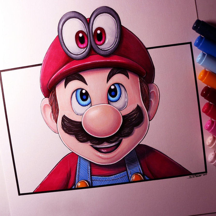 894x894 Mario And Cappy