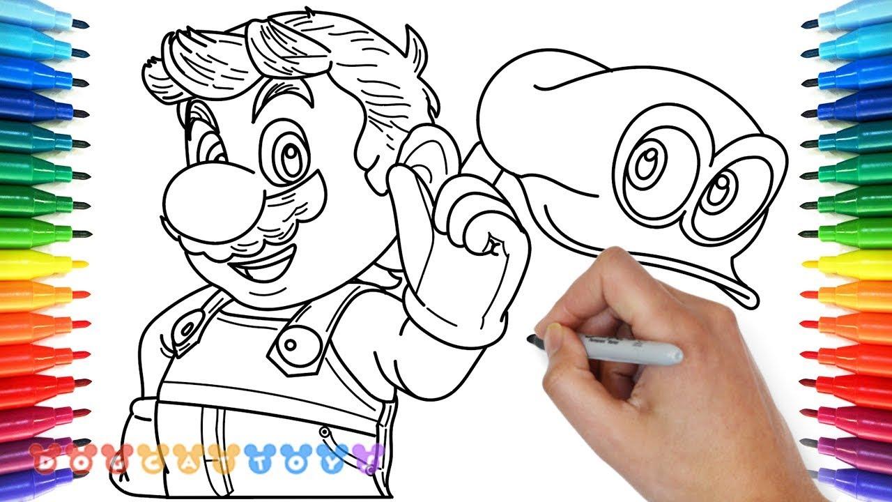 Mario Drawing Book at GetDrawings.com | Free for personal use Mario ...