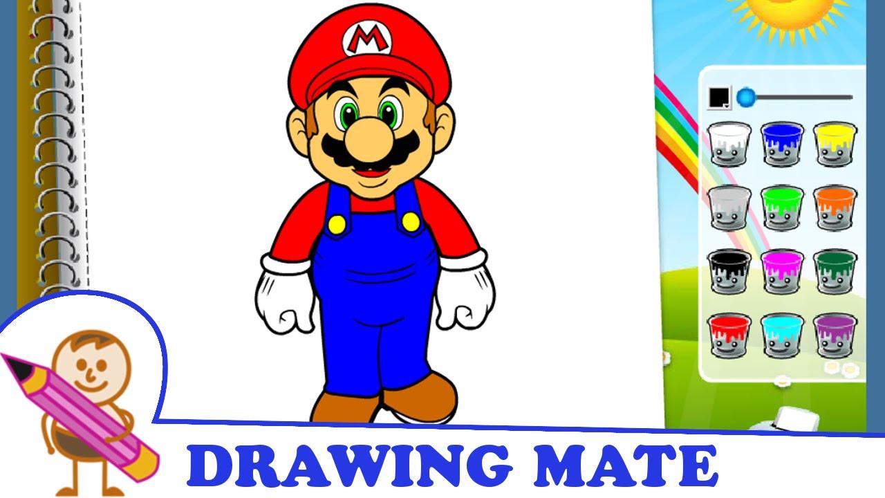 Mario Drawing Book At GetDrawings